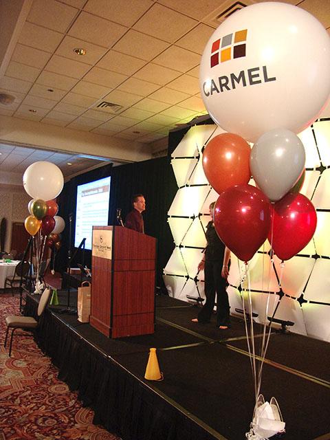 Custom Carmel Balloons