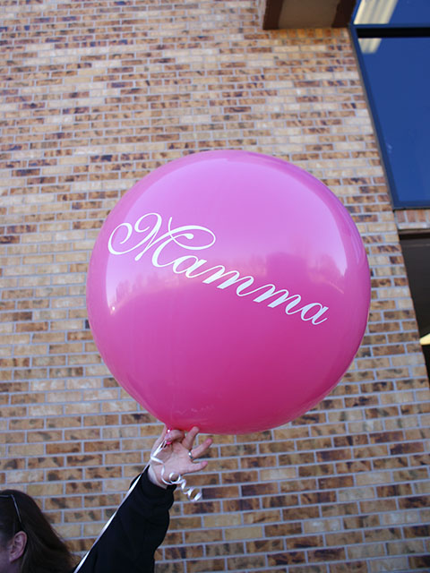 custom decals for 36 inch balloons