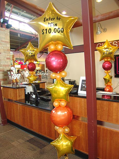 large signage balloons