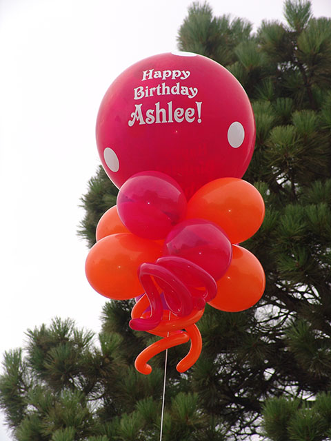 huge printed birthday balloons