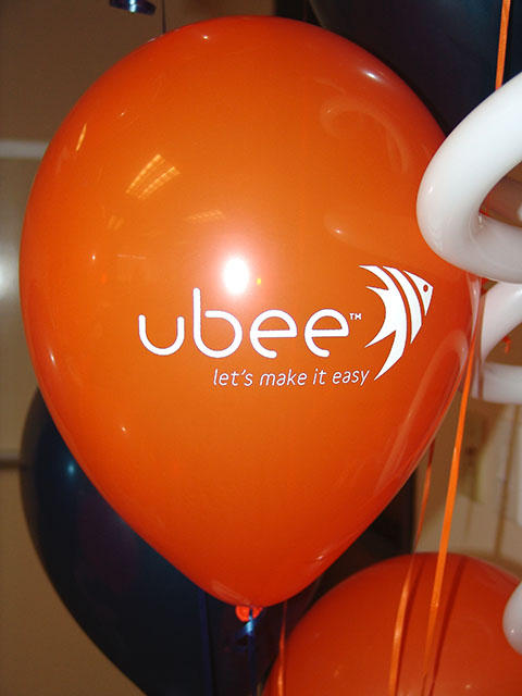 custom printed corporate balloons