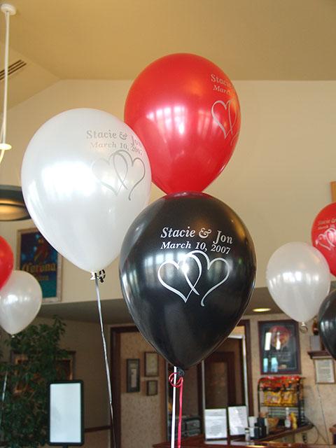 Printed Wedding Balloons