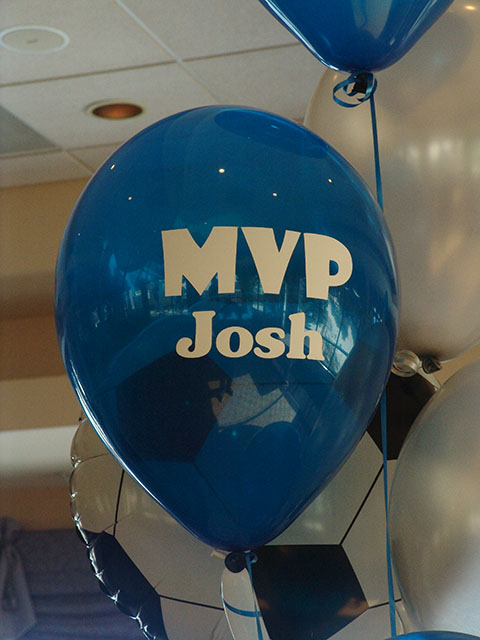 custom printed bar mitzvah balloons