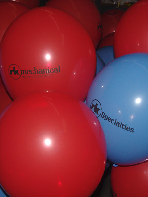 small business printed balloons