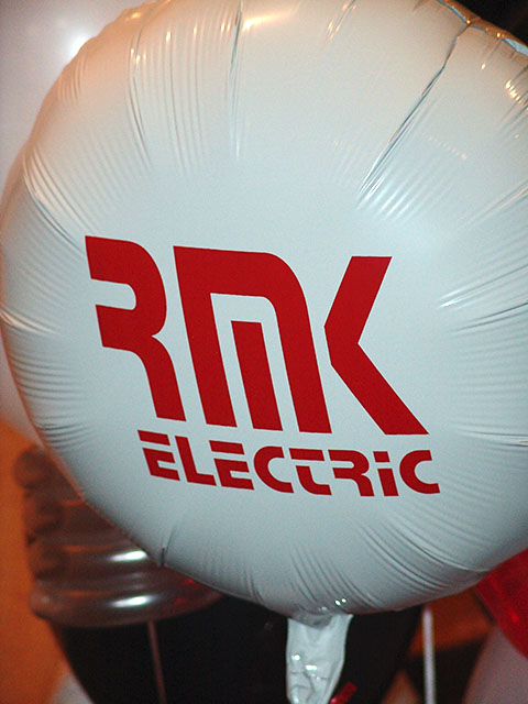 balloon mylar custom printed