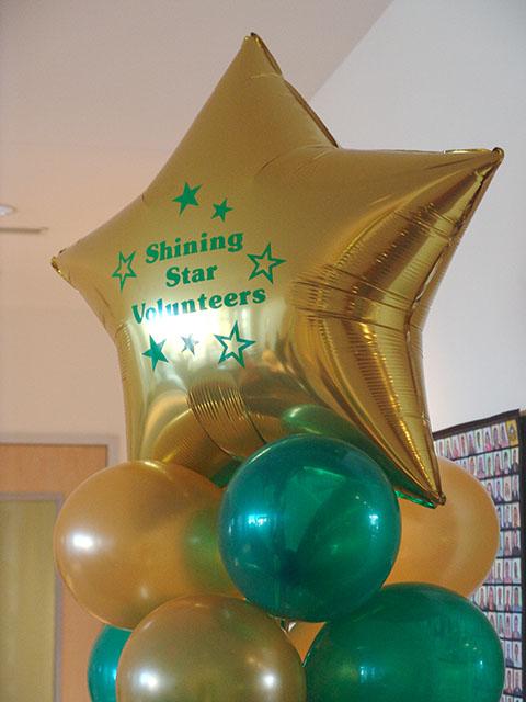 Custom printed mylar balloons