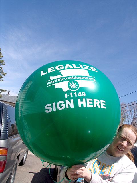 large printed balloons low minimum