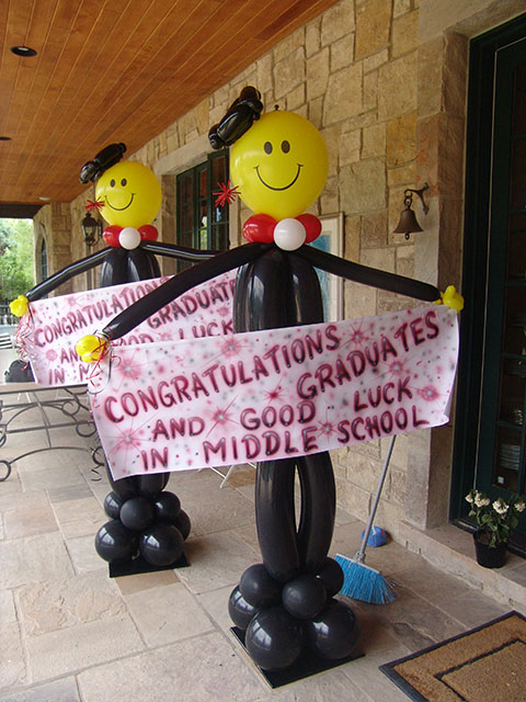 graduation balloons denver