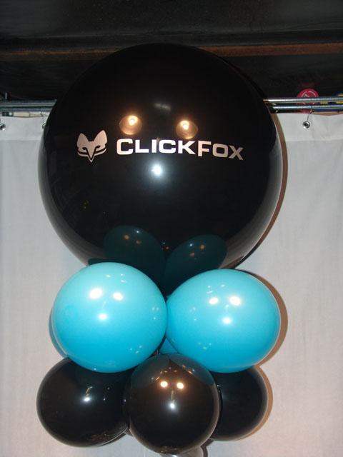 large logo printed balloons