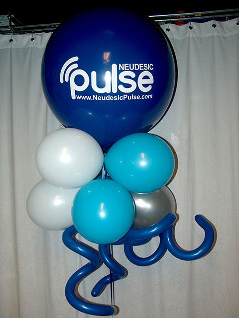 large printed large balloons