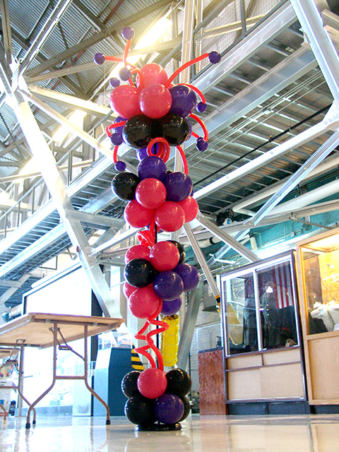 Hearts of all ages balloon columns denver